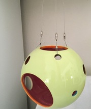 PARTYLITE COLORSPLASH HANGING SPHERE TEALIGHT HOLDER - $12.00