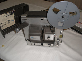 Vintage Bell & Howell 458A Autoload 8 MM Super 8 Dual Movie Projector - $84.13