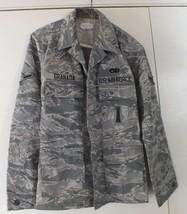 US Air Force Coat Jacket Utility Camo Camouflage Pattern 36 Short Men's - Nice. - $13.10