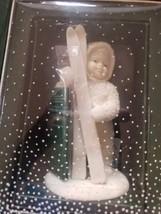 "*NEW* DEPT 56 ~RETIRED~ SNOWBABIES MINIATURE  ""SNOW BABIES LET'S GO SKII... - $14.01"