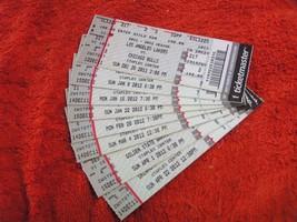 NBA LA Lakers Ticketmaster Ticket Stubs 2011-12 $1,99 Each! - $1.99
