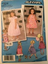 Simplicity 1924 Project Runway Dress with Variations Pattern Sz 4,5,6,7,8 Uncut - $3.00