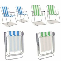 Folding Outdoor Chairs Garden Camping Hiking Fishing Travel Lightweight ... - $49.77+