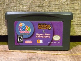 2 Jeux en 1 Double Pack: Dora L'Exploratrice (Nintendo Game Boy Advance,... - $5.18