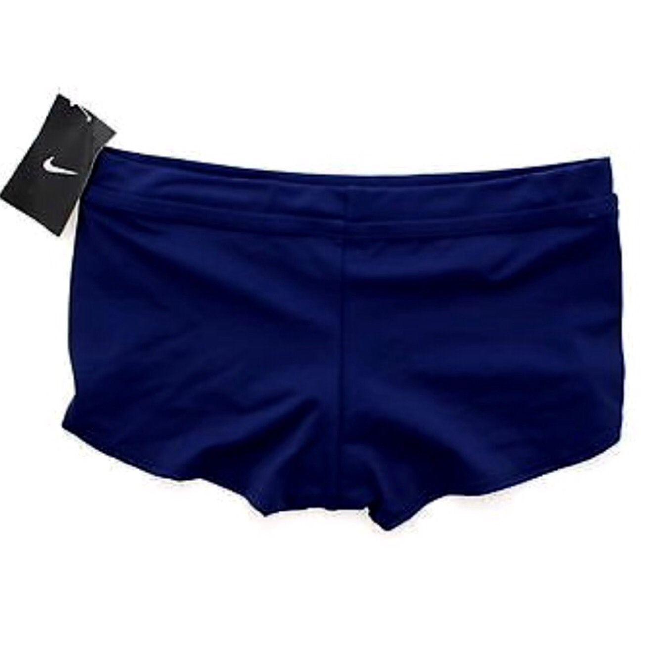 Nike Swimwear Core Bottom Boyshort Swimsuit Bikini (12) Training $40 CLEARANCE