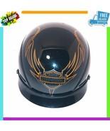 Harley Davidson HD-16 Glossy Half Helmet XXL DOT Certified Accessories P... - $79.48