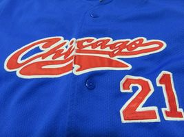 Sport Attack MLB Chicago Cubs Sammy Sosa #21 Baseball Jersey Youth Size Md image 3