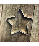 "4.75"" Star Metal Cookie Cutter #NA1011 - $2.64 CAD"