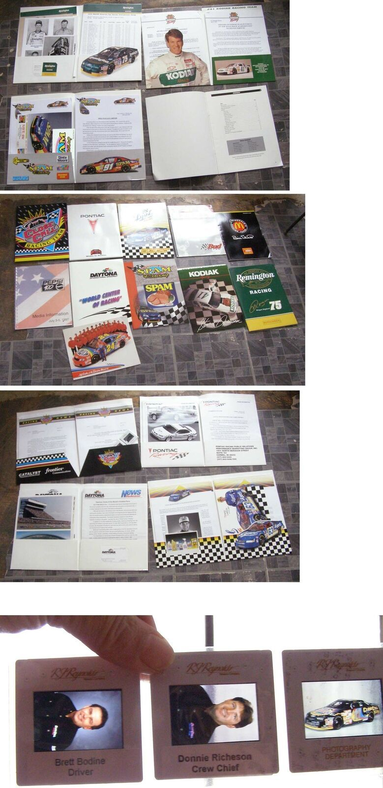 Primary image for NASCAR Racing Kits Steve Grissom Mike Wallace Tracy Leslie +