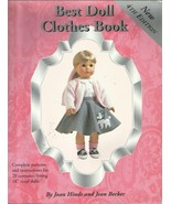"""Best Doll Clothes Book-4 Edition-Complete Patterns-20 Costumes Fit 18"""" V... - $23.21"""