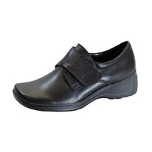 24 HOUR COMFORT Jania Wide Width Adjustable Leather Shoes - $54.95