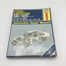Haynes Ford & Mercury Mid-Size Models 1975 thru 1986 Repair Manual Guide # 773 - $10.88