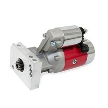 A-Team Performance Small Block Big Block 3.0 HP High Torque Starter, Red