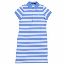 Ralph Lauren Womens Polo Pony Shirt Rugby Dress Small Striped NWT FREE S... - $39.99