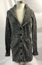 J.Crew Black & White Marled Cardigan Sweater Womens Size XS - $37.79 CAD