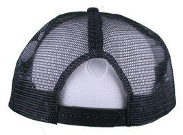 Dissizit! Black Mesh American Cross Bones Flag Trucker Baseball Hat image 4