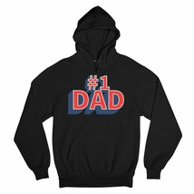 Number 1 Dad Sweatshirt Father's Day World's Greatest Dad Fatherhood Hoodie - $27.07+