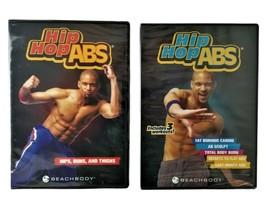 Beach Body Hip Hop ABS Fat Burning Hips Buns Thighs Six Workout DVD Set ... - $25.47