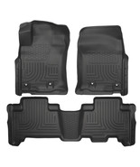 Husky Liners 13-16 Toyota 4Runner WeatherBeater Black Front & 2nd Seat F... - $193.95