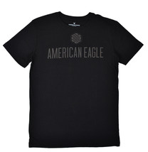 American Eagle Mens Black American Eagle 1977 Graphic Tee Shirt  Small S... - $281,79 MXN