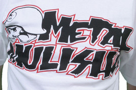 Metal Mulisha Bianco Corpo Logo T-Shirt Piccolo Nwt image 2