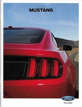 2015 Ford MUSTANG sales brochure catalog 15 US V6 EcoBoost GT Red Rear c... - $9.00