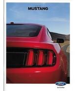 2015 Ford MUSTANG sales brochure catalog 15 US V6 EcoBoost GT Red Rear c... - $9.00