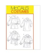 McCall's Patterns M4862 Misses'/Men's Poet Shirts and Sash, Size XM (SML... - $6.81