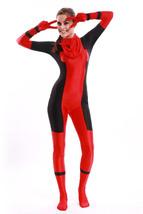 Female Deadpool Adult Halloween Jumpsuit Cosplay Costume for Adult Full ... - $49.99