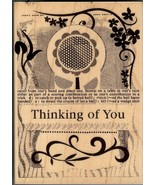 Hero Arts Rubber Stamp H-4778 Collage Thinking of You, Saying, New  S2 - $11.17