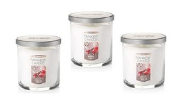 Yankee Candle North Pole Small Tumbler Candle Single Wick - Lot of 3 - £30.92 GBP