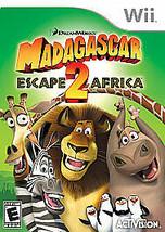 Madagascar: Escape 2 Africa (Nintendo Wii, 2008) - FREE SHIPPING!! - $7.99