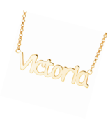 Personalized Necklace Custom Name Nameplate Pendant -Gift to The One - $22.49