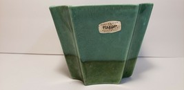 Mid Century Modern 3785, Royal Haeger USA Pottery Green Vase - $17.16