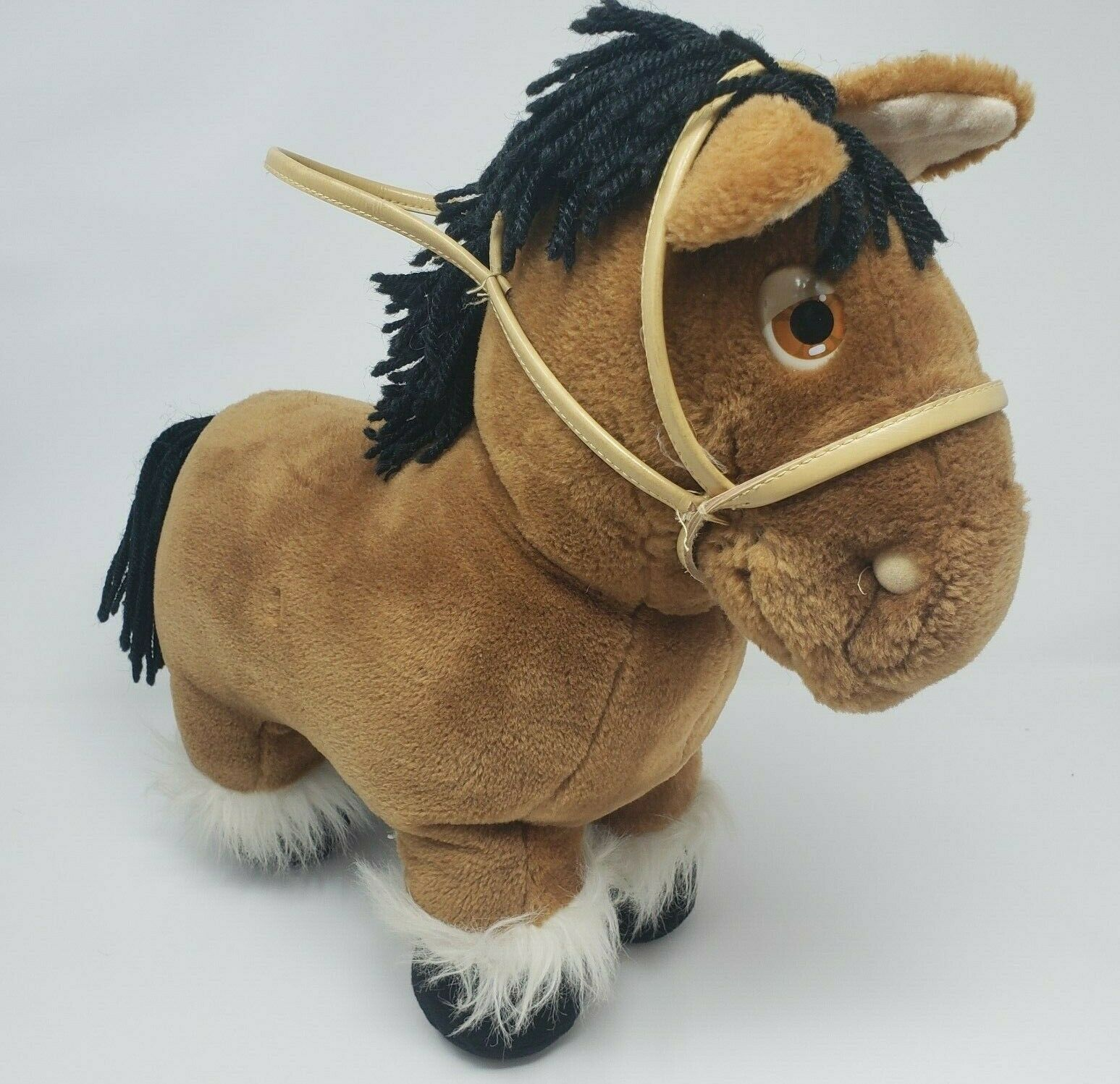 Primary image for VINTAGE 1984 CABBAGE PATCH KIDS HORSE PONY CPK COLECO STUFFED ANIMAL PLUSH BROWN
