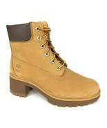 "Timberland Women's Kinsley 6"" Wheat Nubuck Waterproof Boots A25BS - $129.99"
