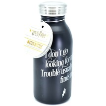"""Harry Potter """"Trouble Finds Me"""" 15oz Water Bottle with Lid image 2"""