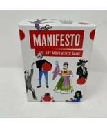 Manifesto Art Movements Card Game - $5.93
