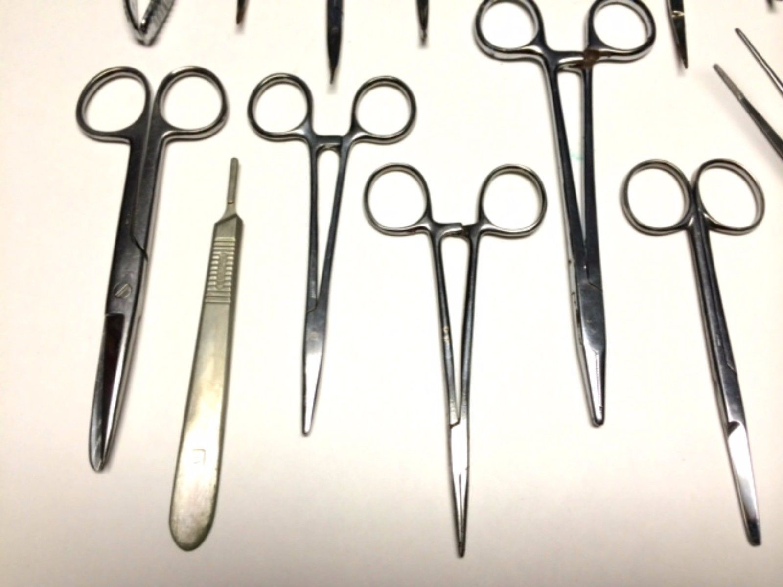 Huge Lot Medical Instruments Stainless Steel Vintage Surgical German Swiss USA