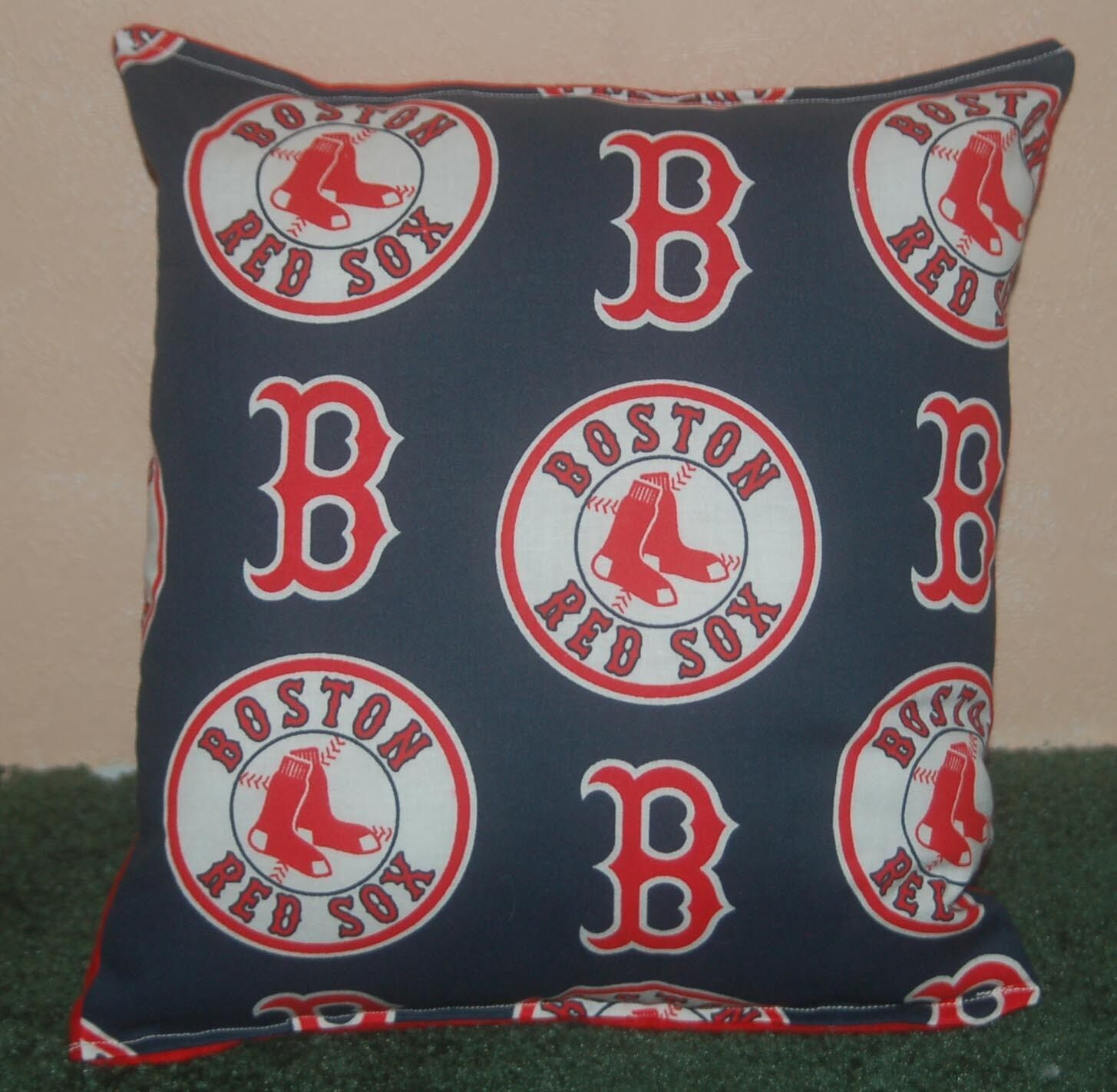 Primary image for Red Sox Pillow Boston Red Sox Pillow MLB Red Soxs Handmade in USA
