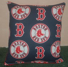 Red Sox Pillow Boston Red Sox Pillow MLB Red Soxs Handmade in USA - $9.97