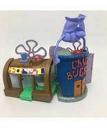 Imaginext Spongebob Squarepants Krusty Krab Chum Bucket Playset Only No ... - $28.05