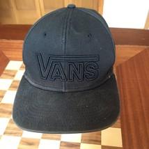 VANS Skateboarding SURF BMX Distressed Black Hat Cap - $15.83