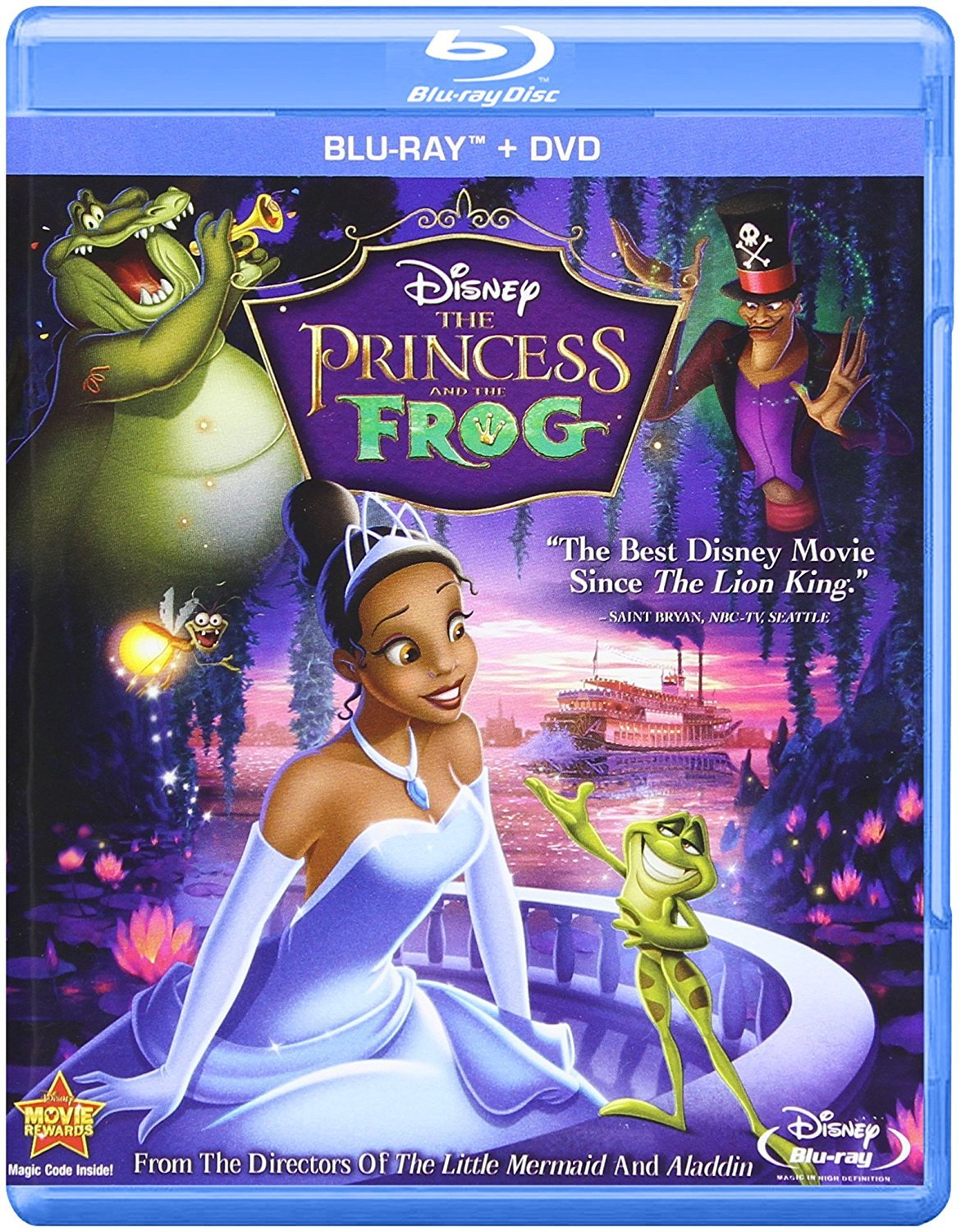 Disney Princess & The Frog (Two-Disc Blu-ray/DVD Combo)