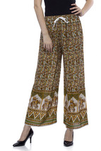 One Femme Women's Jaipur Print Multicolored Palazzo - $26.60