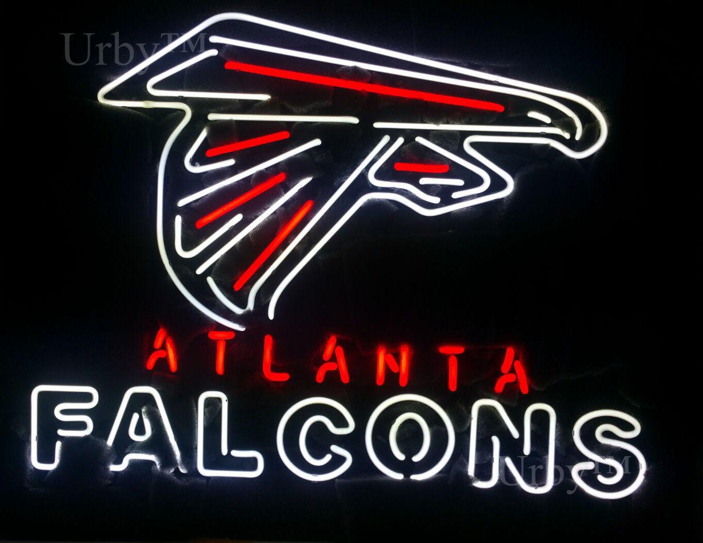 "New ATLANTA FALCONS Neon Sign 24""x20"" Ship From USA"