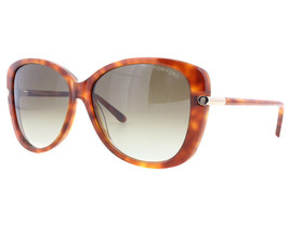 NEW Tom Ford FT0324 56F TF 324 Linda Tortoise Brown Gradient Sunglasses ... - $109.44