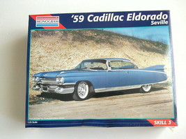 FACTORY SEALED '59 Cadillac Eldorado Seville by Monogram # 2463 - $59.39