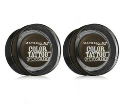 Lot of 4: NEW Maybelline Color Tattoo Leather 24 Hour in 85 Deep Forest ... - $16.82