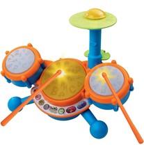 VTech KidiBeats Kids Drum Set Orange Standard Packaging - $43.49